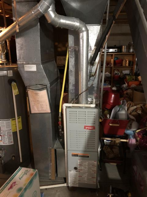 Groveport, OH - Performing our Five Star Tune-Up & Safety Check on a 2019 Carrier . All readings were within manufacturer's specifications, unit operating properly at this time.