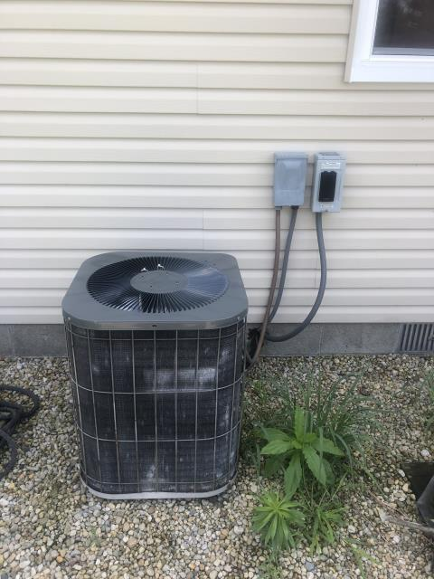 Canal Winchester, OH - Found a gas valve leak on Goodman furnace. May replace gas valve or replace the furnace in the fall.