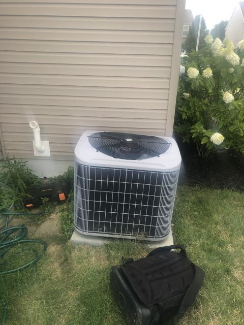 Reynoldsburg, OH - Found highly restrictive filter on Carrier system. After removal, system ran properly. Installed customer provided NEST thermostat. All is in good working order at this time.