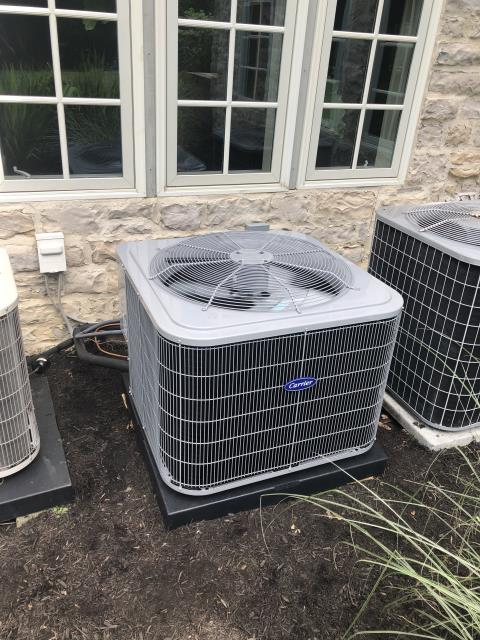 Blacklick, OH - Found ac unit almost completely out of r-22