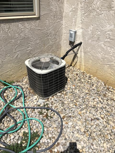 Galena, OH - I provided an estimate for a new Carrier 13 SEER Air Conditioner System
