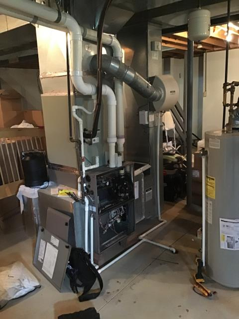Blacklick, OH - I am Performing our Five Star Tune-Up & Safety Check on a 2010 Gas Furnace. All readings were within manufacturer's specifications, unit operating properly at this time.