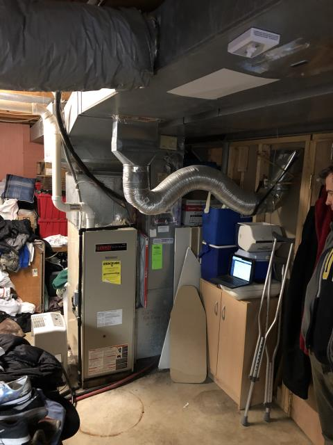 Westerville, OH - I installed a new Carrier 96% Two-Stage 80,000 BTU Gas Furnace and a new Carrier 16 SEER 3 Ton Air Conditioner