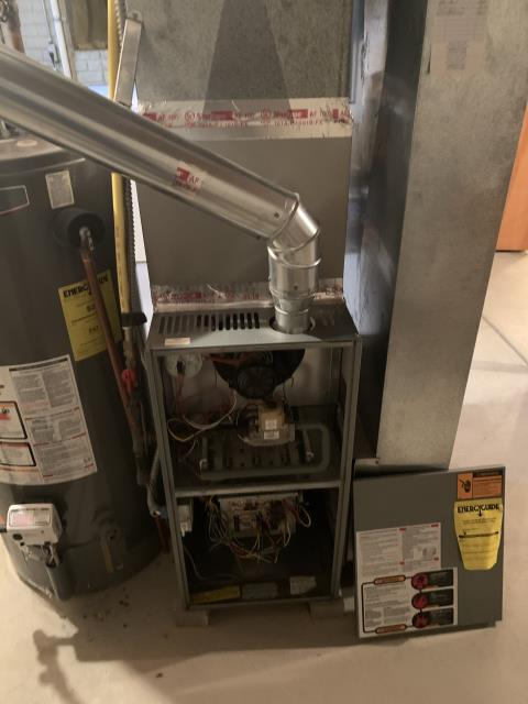 Canal Winchester, OH - 	I am Performing our Five Star Tune-Up & Safety Check on a  1998  Gas Furnace. All readings were within manufacturer's specifications, unit operating properly at this time.