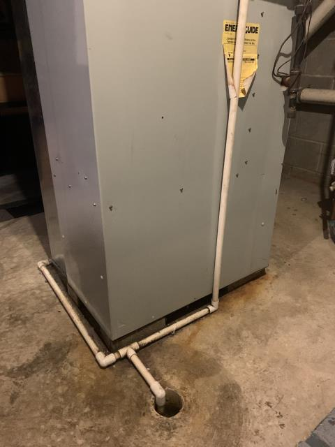 Pataskala, OH - I helped with the install of a Carrier 96% Two-Stage 60,000 BTU Gas Furnace with a  Propane Conversion and a Carrier 16 SEER 2.5 Ton Heat Pump