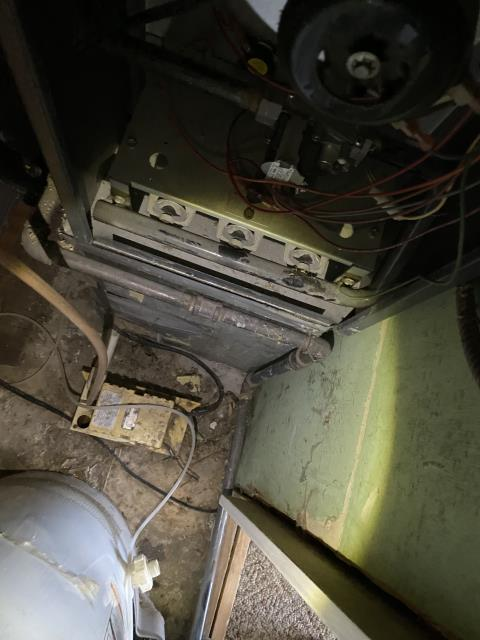 Columbus, OH - Replaced circuit board. Did not need wiring harness at this time. Pulled refrigerator and cleaned behind fridge put in board and moved fridge back into place. At this time all ok.