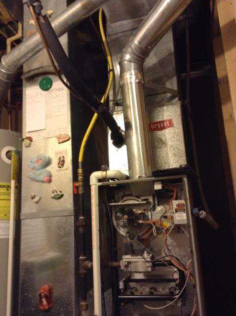 Hilliard, OH - I performed a tune up on a Comfortmaker Gas Furnace