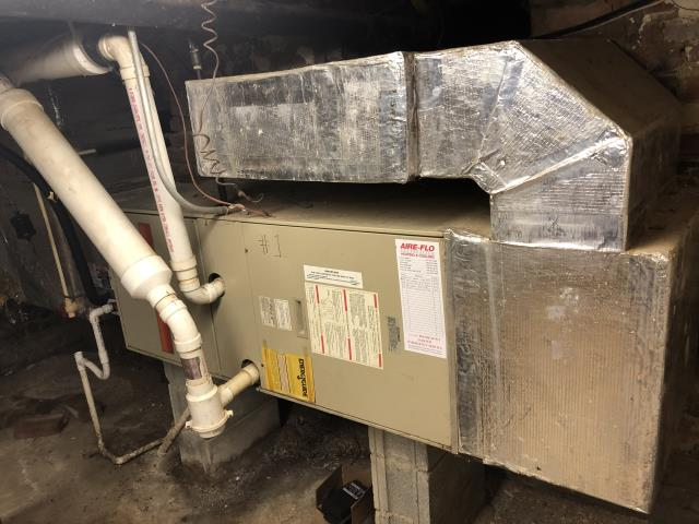 Canal Winchester, OH - I performed an inspection on the install of a Carrier 96% Two-Stage 60,000 BTU Gas Furnace. Found that everything is functioning within manufacturers specifications.