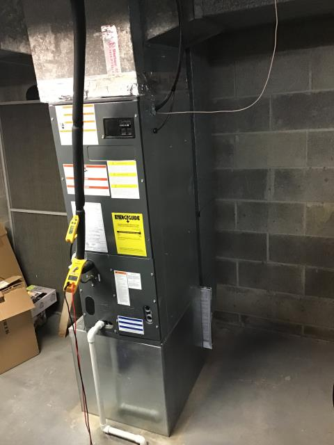 Galena, OH - I found the system to be operational upon arrival. After running some tests, I found the refrigerant level slightly low and asked the customer if they wanted more added. The customer declined at this time.