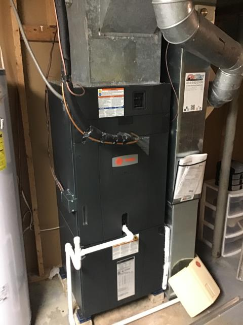 Powell, OH - I performed a tune up on a Trane gas furnace.