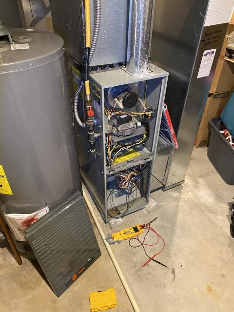 Groveport, OH - I replaced the ignitor in a Trane gas furnace.
