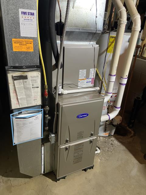 Canal Winchester, OH - Upon arrival for service call on 2020 Carrier furnace, I found slight rattle coming from ductwork. I adjusted louvr and also went through system and tightened all screws and bolts. System did not produce sound on arrival so I just attempted to take care of all possible issues. Upon departure sound still did not replicate and everything sounded as intended. Only remaking sound was slight sound of ductwork popping after unit shuts off.