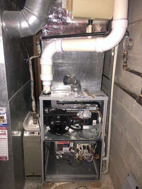 Hilliard, OH - I performed a tune up on a Duncan's gas furnace. Everything checked out within specs. System is operational upon departure.