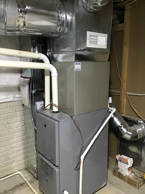 Groveport, OH - Upon arrival for tune up safety check on 2011 ICP furnace, noticed the only thing going out in the system is the inducer motor. It was at the maximum amperage allowed. Brought to customers attention. Furnace heating properly upon departure.