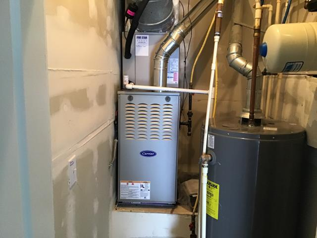Dublin, OH - Upon arrival for tune up safety check on 2020 Carrier furnace, I went through furnace tune up list, everything checked out normally per routine maintenance. System is working within manufacturers specifications. System heating properly upon departure.