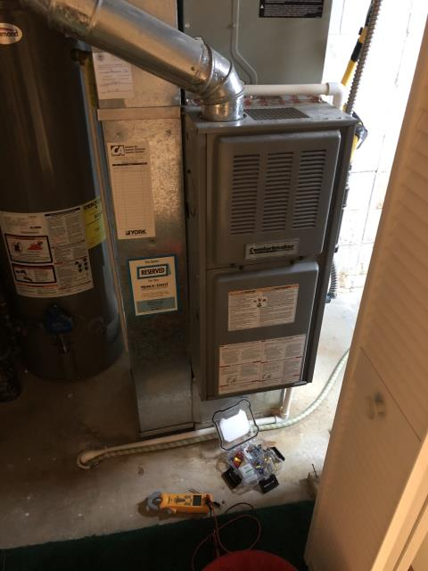Blacklick, OH - I replaced the pilot assembly on a 2005 Comfortmaker Gas Furnace. System was operational at time of departure.