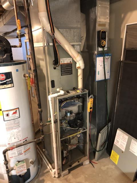 Westerville, OH - I performed a diagnostic on a Trane gas furnace that was displaying Code 4 for thermal lockout. Due to the flame rollout switch being tripped, I jumped the switch out and the system fired up. I adjusted the gas pressure which caused the o2 to skyrocket. The secondary heat exchanger has failed. The customer will replace the entire system.