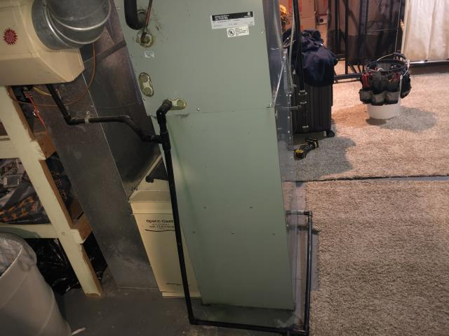 Westerville, OH - I installed a thermostat on a 2021 Carrier 96% 60,000 BTU Gas Furnace