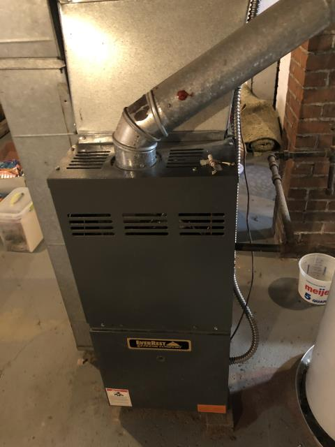 Delaware, OH - I completed a diagnostic on a Goodman  furnace. Determined that the OEM ignitor needed replaced. System was operational at time of departure.