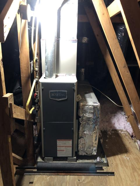 Reynoldsburg, OH - I completed a diagnostic on a 2021 Five Star 80% 45,000 BTU Gas Furnace. Determined that system was operating correctly