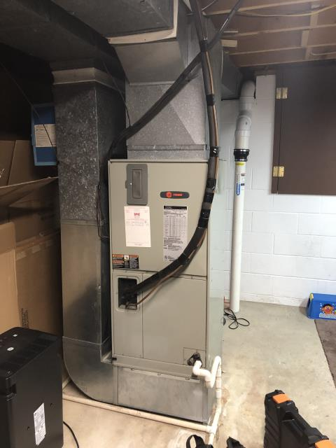 Westerville, OH - I completed a diagnostic on a 1997 Trane Electric Furnace. I determined that system was functioning properly. Could not recreate issue. informed customer system was operational at time of departure.