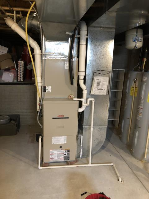 Delaware, OH - I completed a diagnostic on a Lennox Gas Furnace. I determined that Blower motor is failing and not moving enough air. Furnace is operational at time of departure.