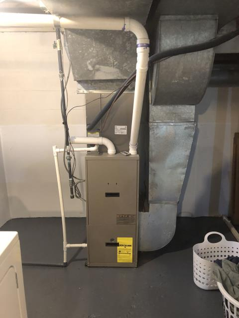 Hilliard, OH - I completed a diagnostic on a York Gas Furnace. I determined that flame sensor needed cleaned. System was operational at time of departure.