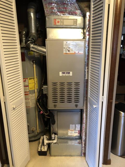 Powell, OH - I completed an installation inspection on a Carrier 16 Seer 4 Ton Air Conditioner.  Completed installation checklist.  Cycled and monitored the system.  Operating normally at this time.