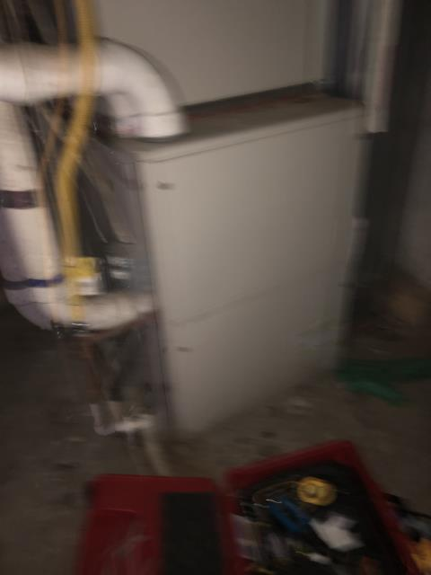 Delaware, OH - I completed a diagnostic on a Lennox Gas Furnace. I determined that the systems filter was sucked into the blower motor and was pretty dirty. I ran a Co2 test and it was within range. System was operational at time of departure.