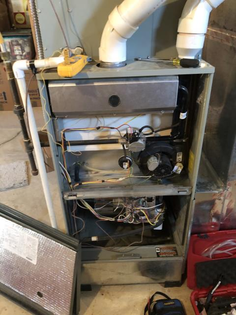 Powell, OH - I completed a diagnostic on a Trane Gas Furnace. I determined that system was displaying code 4 for open limit. High limit was stuck open. I was able to free high limit, changed the filter and system was operational at time of departure.