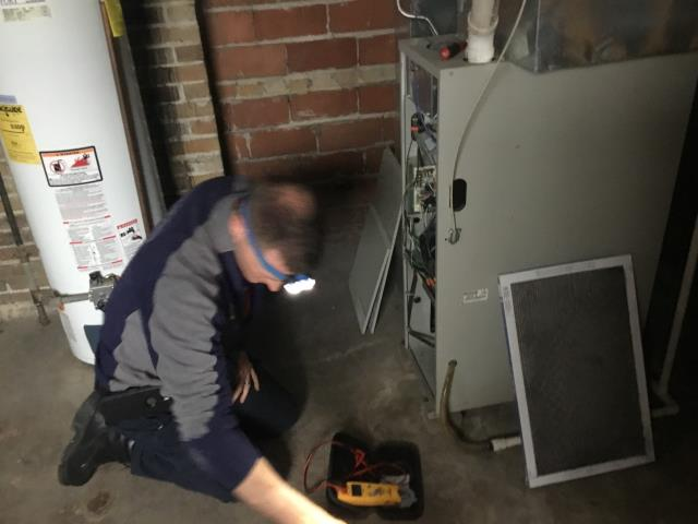 Grandview Heights, OH - Nordyne furnace tune-up