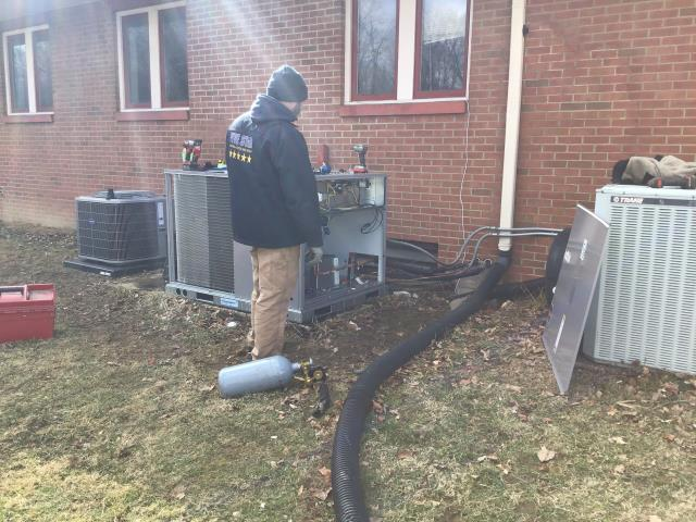 Columbus, OH - Columbus church heating and cooling