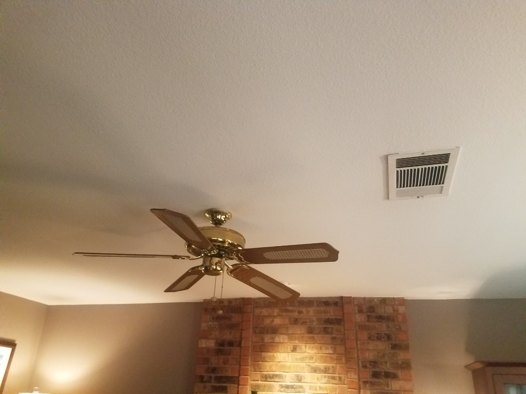 Austin, TX - Happy customer,  here is a ceiling repair we just completed .