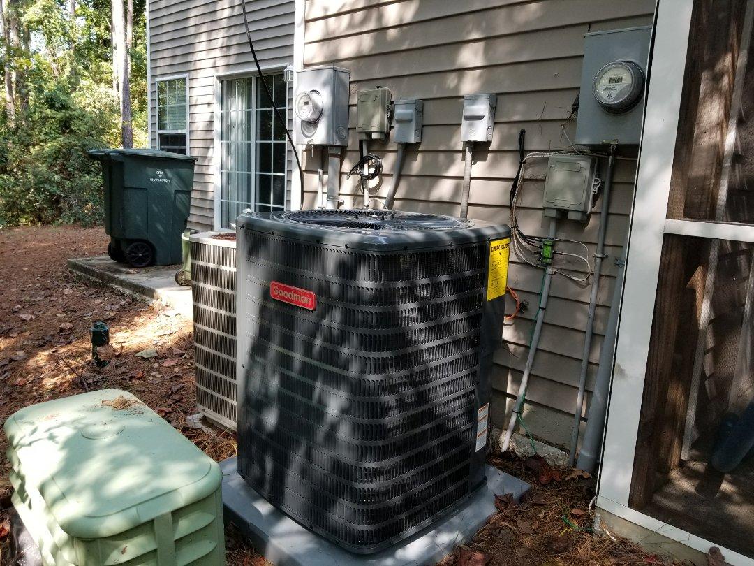 Charleston, SC - Goodman heat pump installation