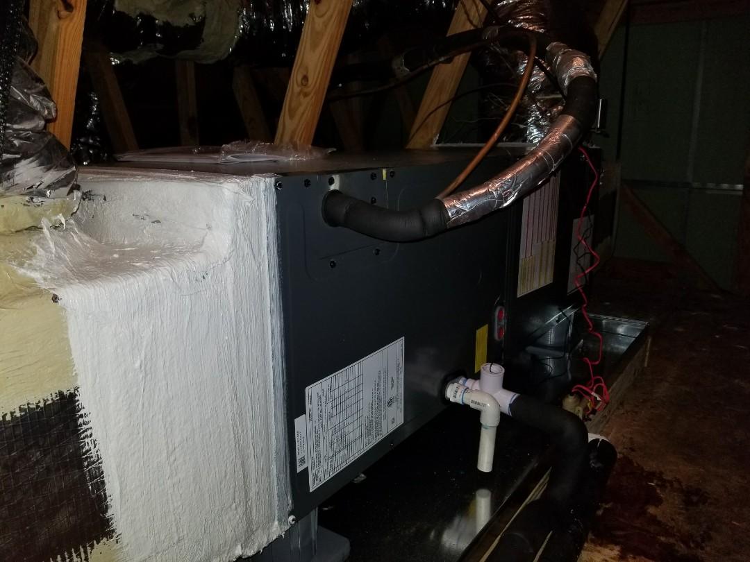 Charleston, SC - Goodman heat pump air handler installation