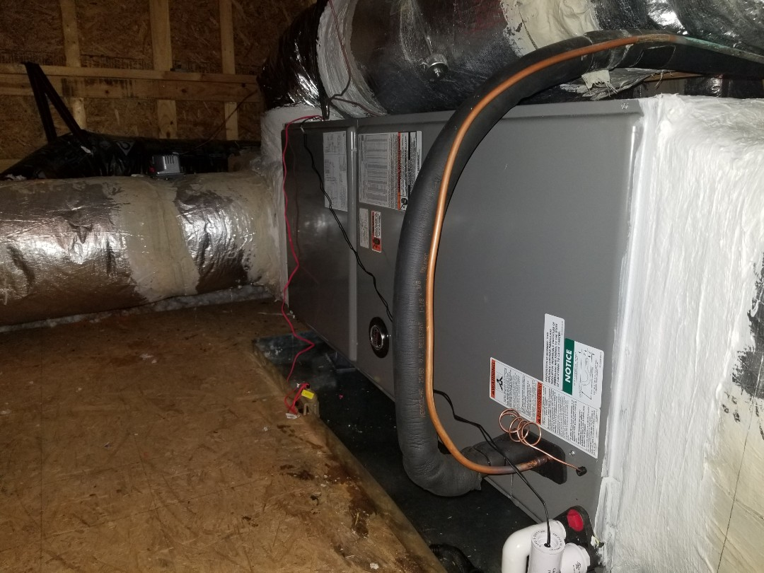 Goose Creek, SC - Ruud heat pump system change out in Goose Creek