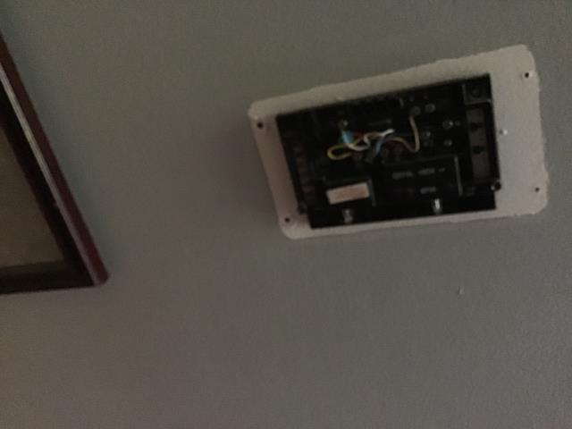 Jamestown, OH - Replacing thermostat, Installing new nest stat