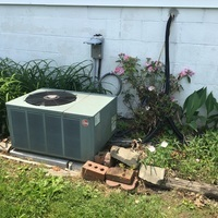 Kettering, OH - Replaced evap coil on Rheem ac unit