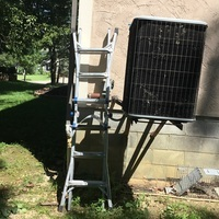Kettering, OH - Gave customer free quote for replace ac unit