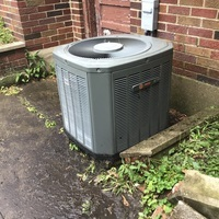 Kettering, OH - Removed jumper wires from Trane unit