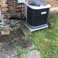 Springfield, OH - Comfortmaker ac not cooling, 5 years old. cooling to manufacter specs