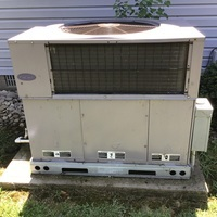 Jamestown, OH - Replaced blower motor and dual capacitor on Carrier dual unit
