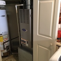 Huber Heights, OH - Installed Carrier 80,000 BTU gas furnace 2019