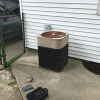 Dayton, OH - Gave home owner free estimate for Carrier ac and gas furnace