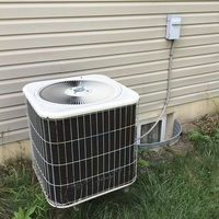Dayton, OH - Replacing fan motor, blades and run cap on older ac unit, model and serial worn off