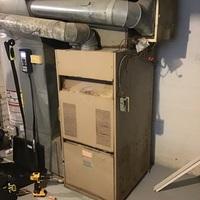 Dayton, OH - Gas furnace tune up on older trane furnace