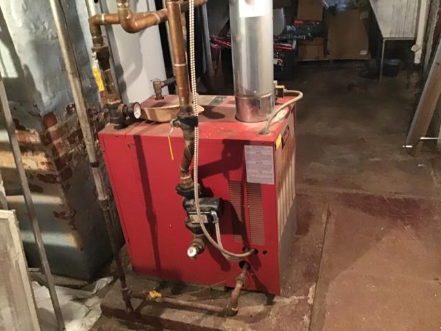 Xenia, OH - Smith boiler repair.  Not heating