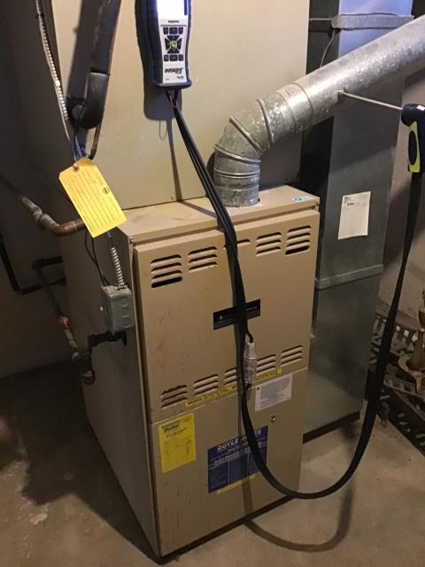 Dayton, OH - Performed complete tuneup and safety inspection on a Goodman furnace to ensure efficient operation for the winter season of 2019/2020.