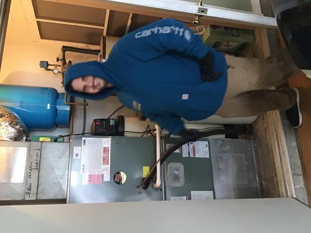 Cedarville, OH - Rudd electric furnace  tuneup