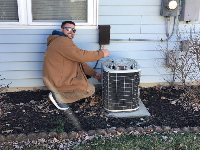 Xenia, OH - Providing estimate for new 96% high efficiency furnace & AC